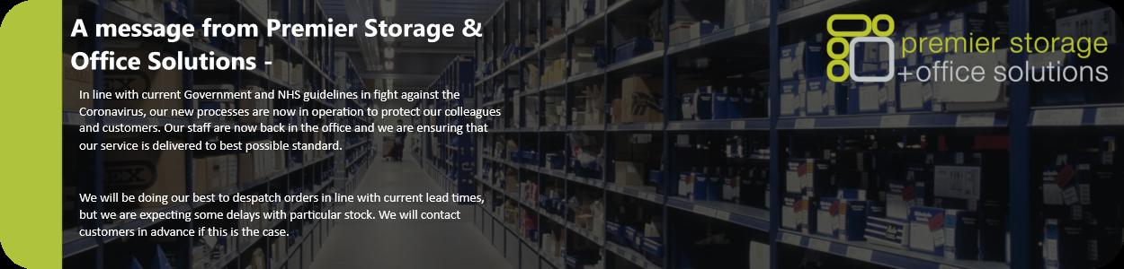 Updates at Premier Storage
