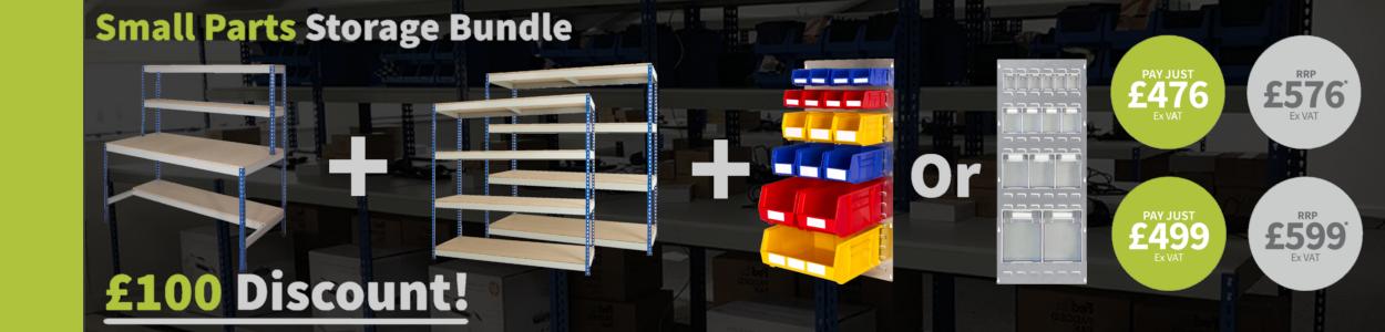 Small Parts Storage Bundle