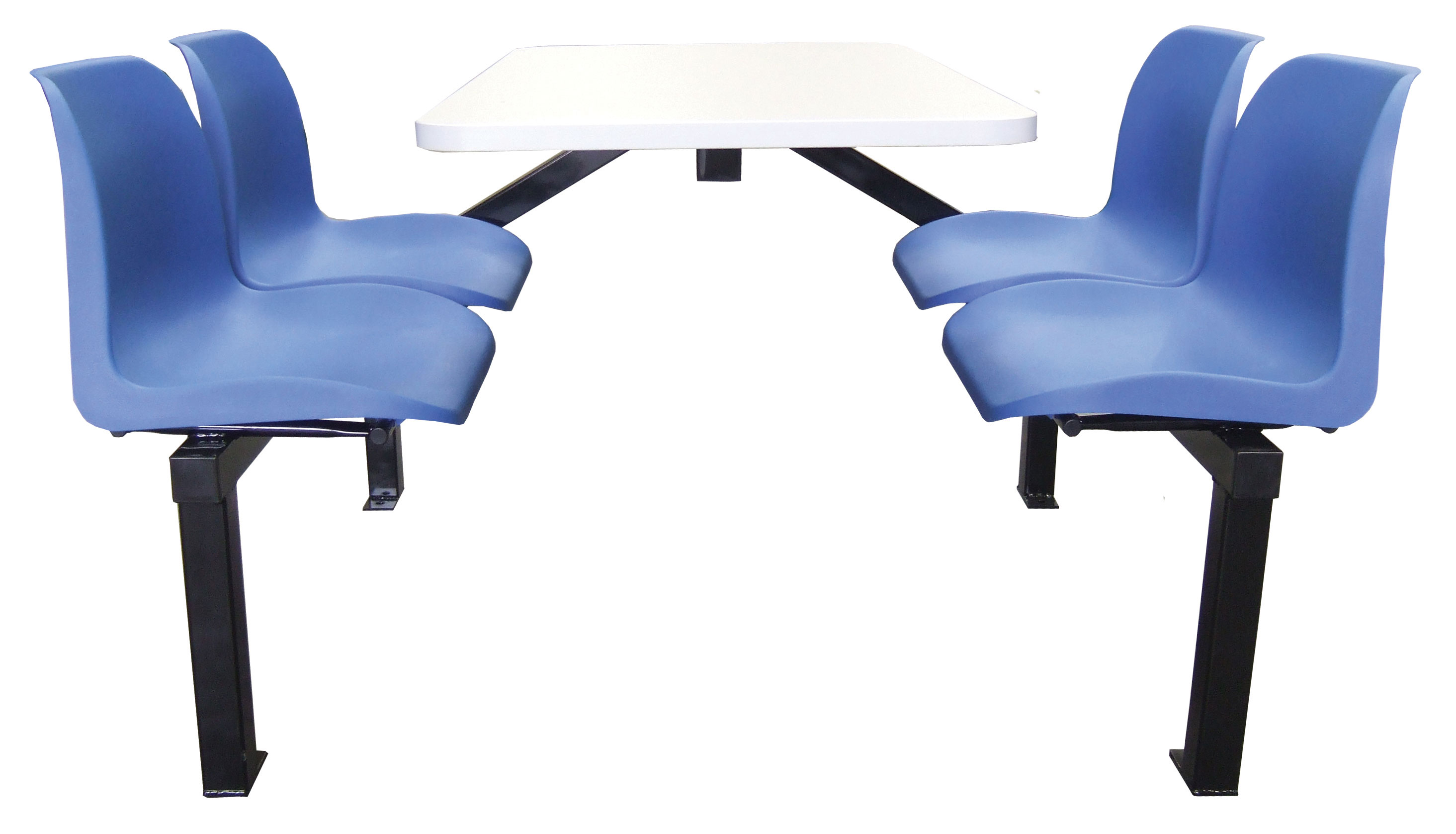 4 Seater Canteen Table Access 1 Way Qct41z