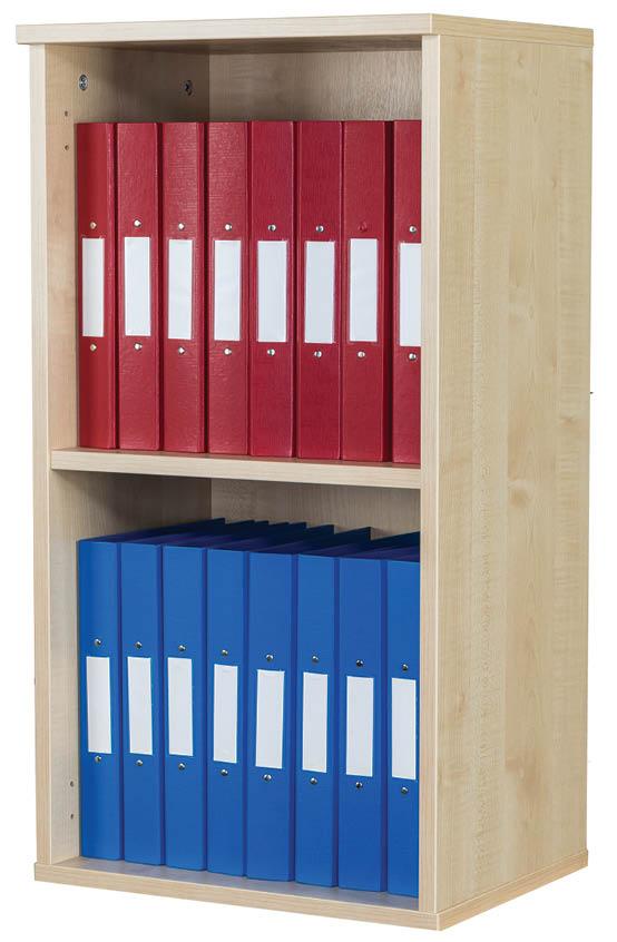 Premium 10 Box File Open Wall Mounted Unit 840mm High