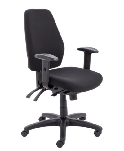 Call Centre Heavy Duty Fabric Chair (CH0905BK)