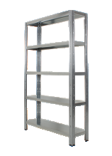 Anco Idea Plus Galvanised Steel Boltless Shelving