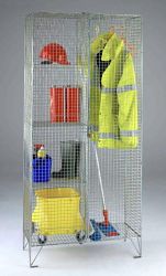 Wire Mesh Compartment Cupboards