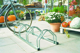 Bike Wheel Rack