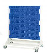 Bott Perfo Louvre Panel Racks & Trolleys - 1250mm High Mobile Rack