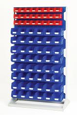 Bott Perfo Louvre Panel Racks & Trolleys - 1775mm High Static Rack