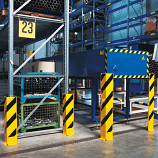 Black Bull Heavy Duty Pallet Racking Protectors