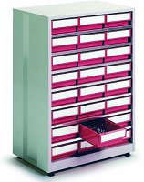 High Density Storage Cabinets - 24 Bins