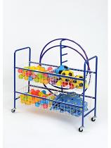 4 Basket PE/Ball Trolley