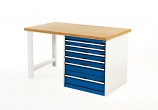 Bott 840mm high Pedestal Workbench