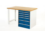 Bott 940mm high Pedestal Workbench