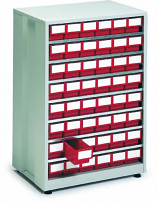 High Density Storage Cabinets - 48 Bins