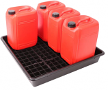 5 x 25 Litre Bunded Drum Drip Tray
