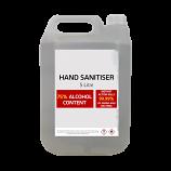 5L Hand Sanitiser Gel