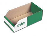 K-bins - A Range - Pack of 50 Cardboard Storage Bins