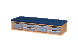 Classroom Step/Seat - includes 6 Trays