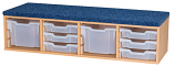 Classroom Step/Seat - includes 8 Trays