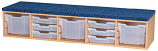 Classroom Step/Seat - includes 9 Trays