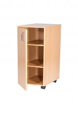 Single Door Mobile Cupboard - 779mm High