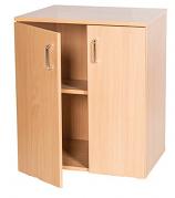 Double Door Static Cupboard - 697mm High