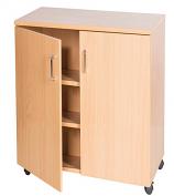 Double Door Mobile Cupboard - 779mm High