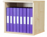 Premium 5 Box File Open Wall Mounted Unit 438mm High