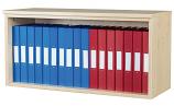 Premium 10 Box File Open Wall Mounted Unit 438mm High