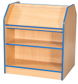 Folio Premium 750mm Wide Double Sided Library Bookcase