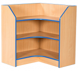 Folio Premium 750mm Internal Corner Library Bookcase