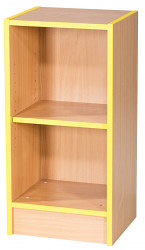 Folio Premium 375mm Wide Slimline Flat Top Library Bookcase