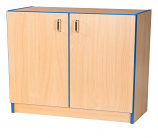 Folio Premium 750mm Wide Library Flat Top Bookcase Cupboard