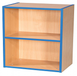 KubbyKurve Two Tier 1 + 1 Library Shelf Unit 700mm High 500mm Wide