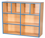 KubbyKurve Three Tier 4 + 2 + 2 Library Unit 1040mm High 1000mm Wide
