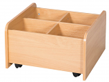 Low Mobile Kinderbox - 300mm High 610mm Wide