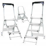 Easy Slope Aluminium Folding Steps