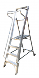 Aluminium Wide Step ladders