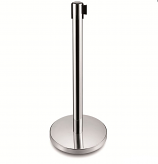 Belt Barrier System - Stainless Steel Post