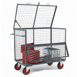 Security Box Trolleys - Mesh