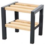 Premium Single Bench with Shoe Rack