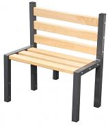 Premium Single Cloakroom Bench