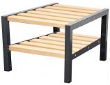 Premium Double Bench with Shoe Rack