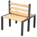 Premium Double Sided Cloakroom Bench