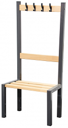 Premium Single Sided Cloakroom Coat Bench