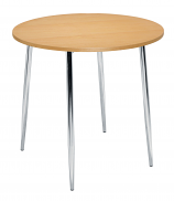 Ellipse 800mm 4 Legged Cafe/Bistro Table