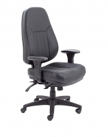 Panther Heavy Duty Leather Office Chair