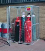 Gas Cylinder Storage Lock-Up Cage