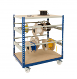 Anco Mobile Cable Reel Storage Trolley