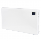 Levante 1000W Eco Slimline Digital Panel Heater - 24 Hour Timer