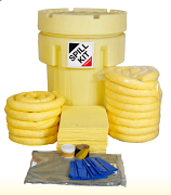 Chemical Spill Kit in Overpack Drum 250Litres