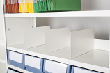 Anco Delta Plus Shelving Accessories  - Free Standing Dividers